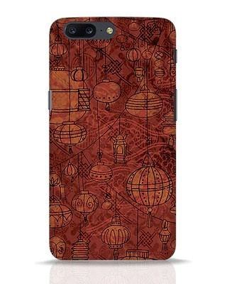 Shop Chinese Lanterns OnePlus 5 Mobile Cover-Front