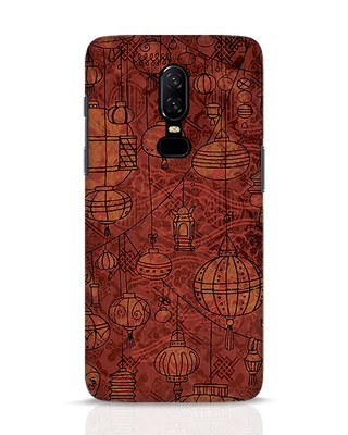 Shop Chinese Lanterns OnePlus 6 Mobile Cover-Front