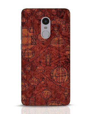 Shop Chinese Lanterns Xiaomi Redmi Note 4 Mobile Cover-Front