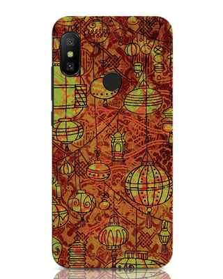 Shop Chinese Lanterns Xiaomi Redmi Note 6 Pro Mobile Cover-Front