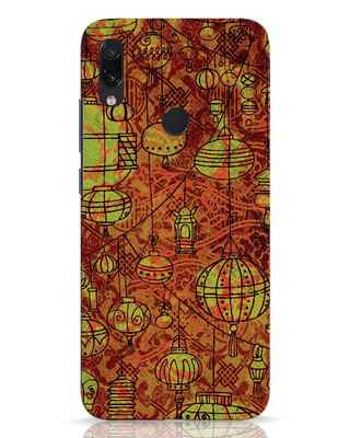 Shop Chinese Lanterns Xiaomi Redmi Note 7 Mobile Cover-Front