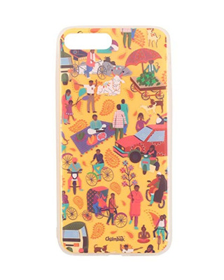 Shop Chumbak iPhone 7 Plus Indian Traffic Mobile Cover-Front