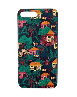 Shop Chumbak iPhone 7 Plus Quiet Village Mobile Cover-Front