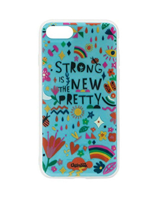 Shop Chumbak iPhone 8/SE Strong Is The New Pretty Mobile Cover-Front