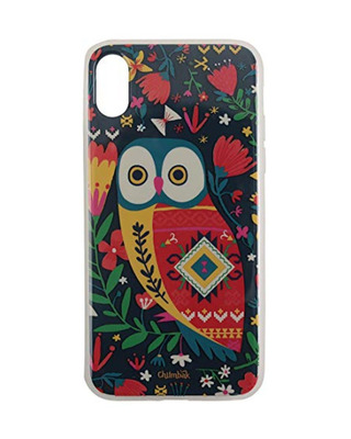 Shop Chumbak iPhone- XS Tropical Owl Mobile Cover-Front