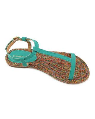 Shop Chumbak Vibrant Whirl Sandal-Front