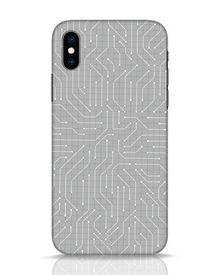 Shop Circuit Board iPhone XS Mobile Cover-Front