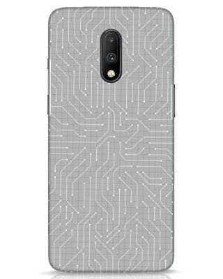 Shop Circuit Board OnePlus 7 Mobile Cover-Front