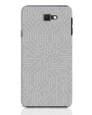 Shop Circuit Board Samsung Galaxy J7 Prime Mobile Cover-Front