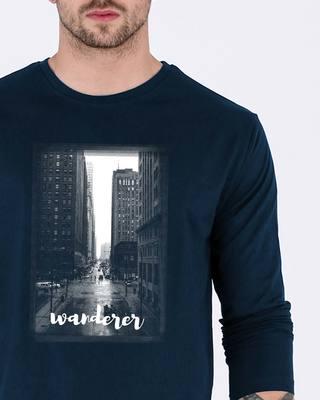 Shop City Wanderer Full Sleeve T-Shirt-Front