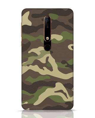Shop Classic Camo Nokia 6.1 Mobile Cover-Front