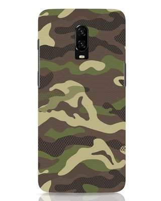 Shop Classic Camo OnePlus 6T Mobile Cover-Front