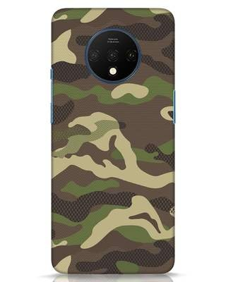 Shop Classic Camo OnePlus 7T Mobile Cover-Front