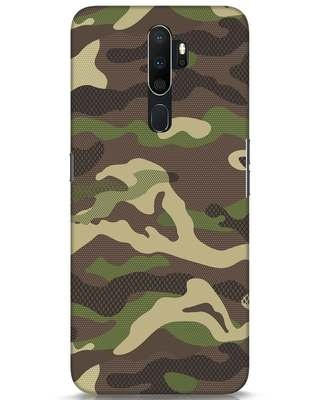 Shop Classic Camo Oppo A5 2020 Mobile Cover-Front