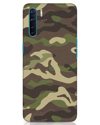 Shop Classic Camo Oppo F15 Mobile Cover-Front