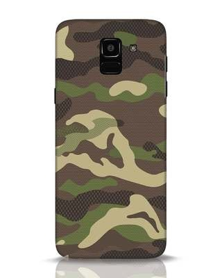 Shop Classic Camo Samsung Galaxy J6 Mobile Cover-Front