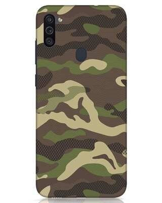 Shop Classic Camo Samsung Galaxy M11 Mobile Cover-Front