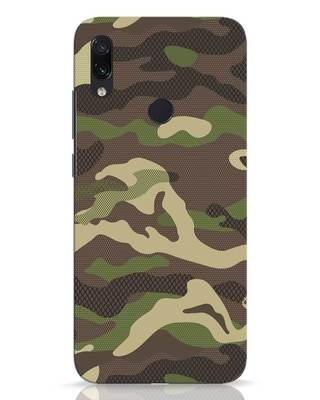 Shop Classic Camo Xiaomi Redmi Note 7 Pro Mobile Cover-Front