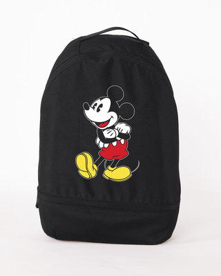 Shop Classic Mickey Essential Mini Backpack (DL)-Front