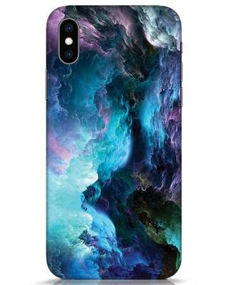 Shop Cloudy iPhone XS Mobile Cover-Front