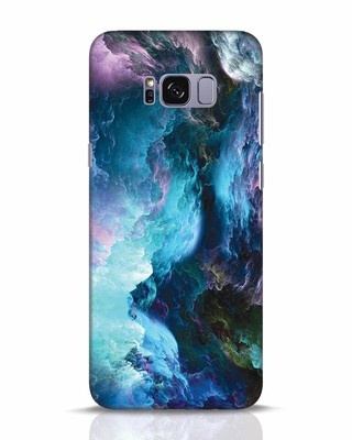Shop Cloudy Samsung Galaxy S8 Plus Mobile Cover-Front
