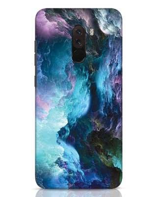Shop Cloudy Xiaomi POCO F1 Mobile Cover-Front