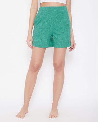 Shop Clovia Cotton Lounge Shorts-Front