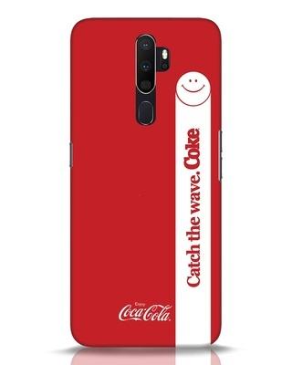Shop Coca-Cola Catch The Coke White Oppo A5 2020 Mobile Cover-Front