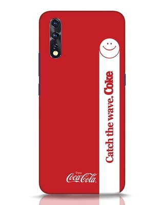 Shop Coca-Cola Catch The Coke White Vivo Z1x Mobile Cover-Front