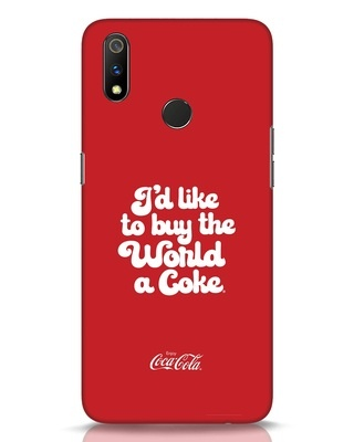 Shop Coca-Cola I Would Like To Buy Realme 3 Pro Mobile Cover-Front