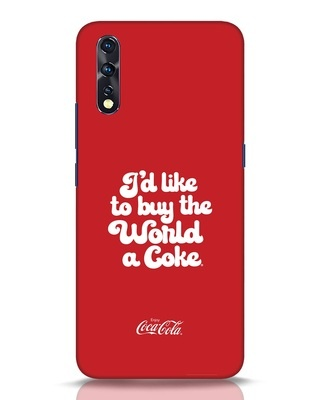 Shop Coca-Cola I Would Like To Buy Vivo Z1x Mobile Cover-Front