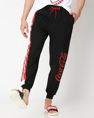 Shop Coca Cola Color Block Jogger-Front