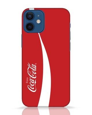 Shop Coca-Cola Ribbon iPhone 12 Mini Mobile Cover-Front