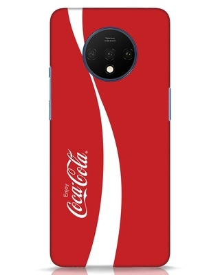Shop Coca-Cola Ribbon OnePlus 7T Mobile Cover-Front