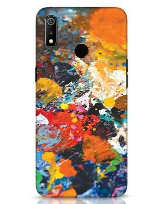 Shop Color Palette Realme 3 Mobile Cover-Front