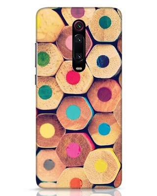 Shop Color Pencil Xiaomi Redmi K20 Mobile Cover-Front
