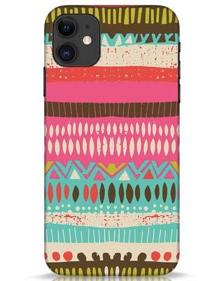 Shop Color Pile iPhone 11 Mobile Cover-Front