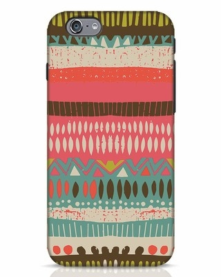 Shop Color Pile iPhone 6 Mobile Cover-Front