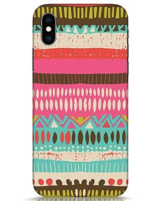 Shop Color Pile iPhone XS Mobile Cover-Front