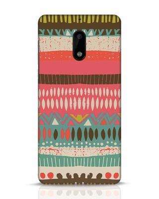 Shop Color Pile Nokia 6 Mobile Cover-Front
