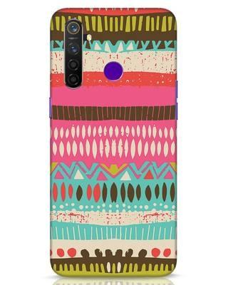 Shop Color Pile Realme 5 Pro Mobile Cover-Front