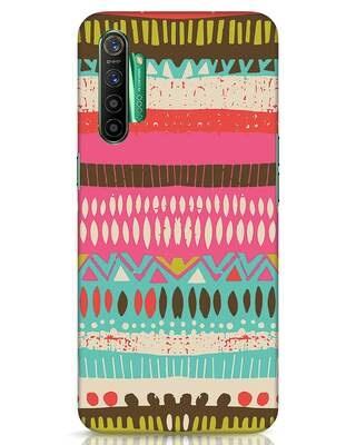 Shop Color Pile Realme X2 Mobile Cover-Front
