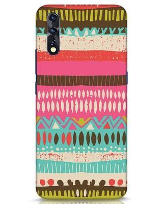 Shop Color Pile Vivo Z1x Mobile Cover-Front