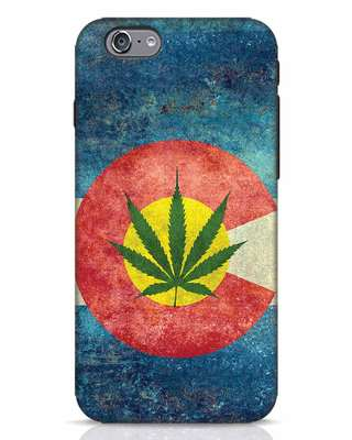 Shop Colorado Flag iPhone 6 Mobile Cover-Front