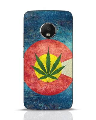 Shop Colorado Flag Moto G5 Plus Mobile Cover-Front