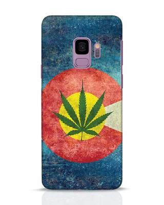 Shop Colorado Flag Samsung Galaxy S9 Mobile Cover-Front