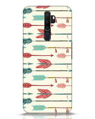 Shop Colorful Arrows Oppo A5 2020 Mobile Cover-Front