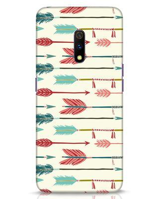 Shop Colorful Arrows Realme X Mobile Cover-Front