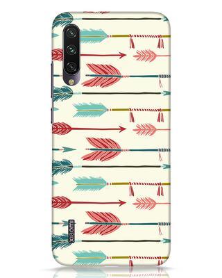 Shop Colorful Arrows Xiaomi Mi A3 Mobile Cover-Front