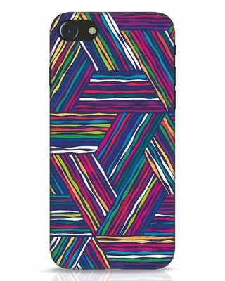Shop Colorful Pattern iPhone 7 Mobile Cover-Front